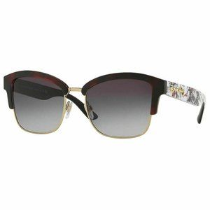 Burberry Square Sunglasses W/Grey Gradient Lens